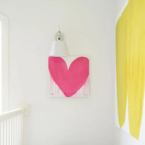 Kerri Rosenthal Drippy Heart Series